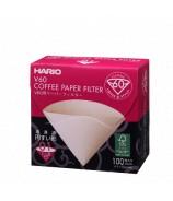 Filtro di Carta v60 100 pezzi Hario per caffè filtro