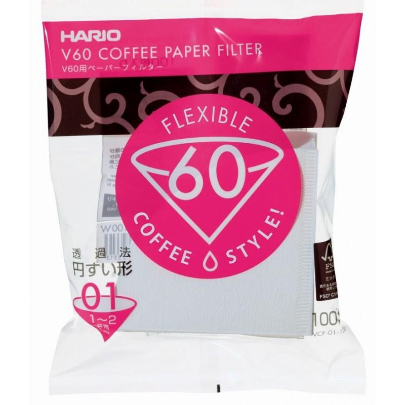 Filtro di Carta Bianco v60 Hario