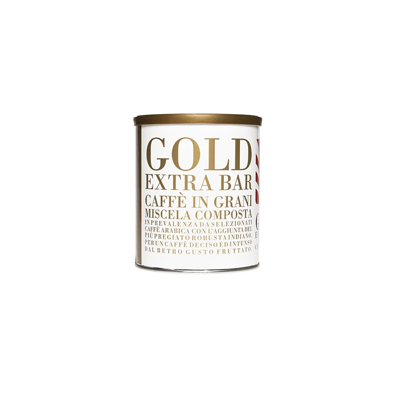 Lattina caffè in grani 250 gr Gold Extra Bar
