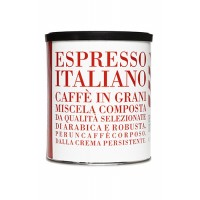Caffè in grani in lattina da 250 gr Espresso Italiano