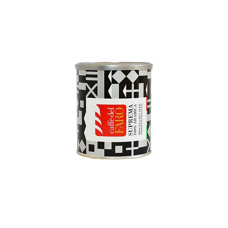 lattina caffè macinato 250 gr Suprema 100 % Arabica