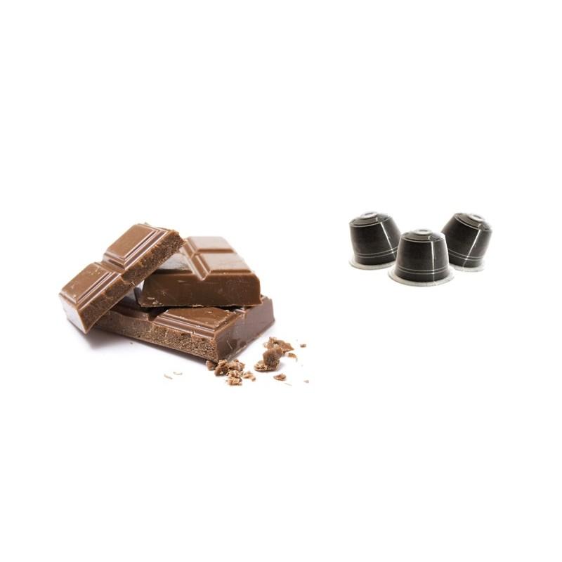 Caffè Miscela Robusta Aroma Cioccolato Italiano compatibili Nespresso conf 10 pezzi