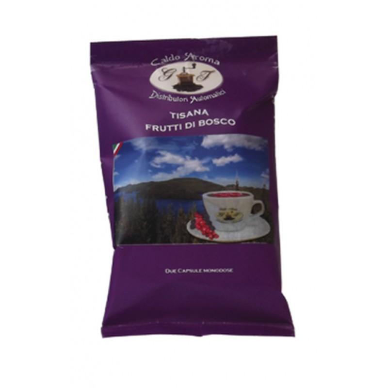 Tisana Frutti di Bosco compatibili espresso point 50 Capsule