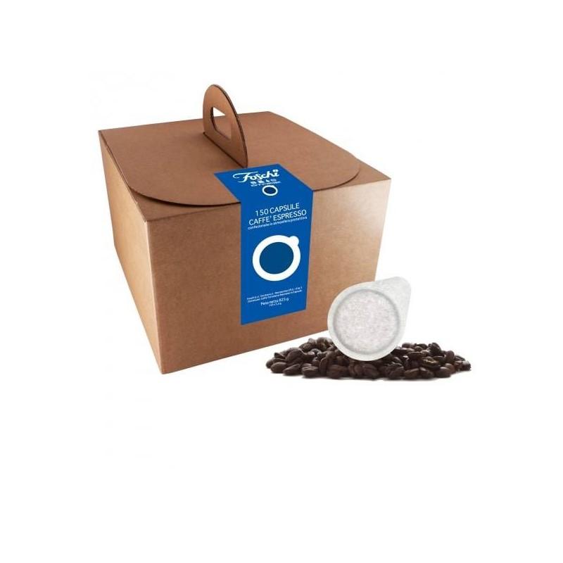 Blu 150 cialde 44mm Caffè