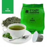The verde Earl Grey in capsule compatibili Nespresso