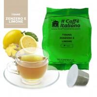 Tisana Zenzero e Limone in capsule compatibili Nespresso