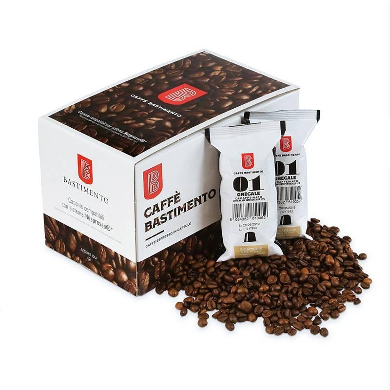 Grecale Decaffeinato compatibile Nespresso