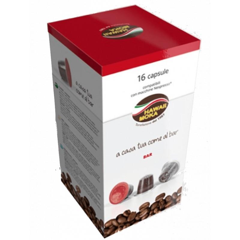 Nespresso Bar in capsule compatibili Nespresso Hawaii Moka