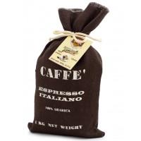 Caffè Sacco di Juta 100% arabica in Grani 1kg