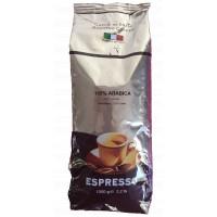Espresso 100 per cento Arabica grani tostato bar 1 kg