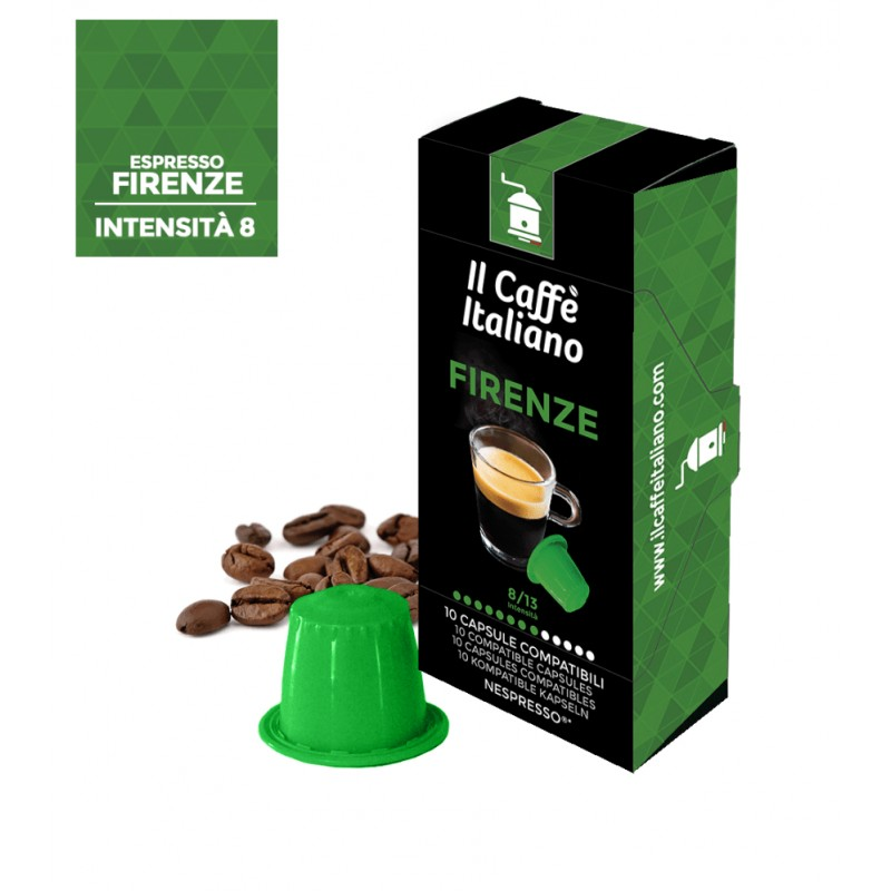 Caffè compatibile Autoprotette Nespresso Firenze intensità 8