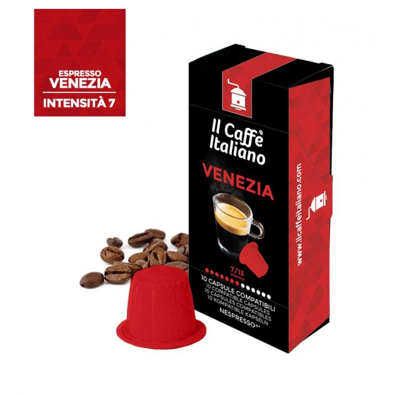Venezia caffè Italiano in capsule Nespresso intensità 7