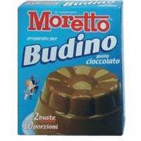 BUDINO CACAO  Moretto 8 scatole da 2 bustine