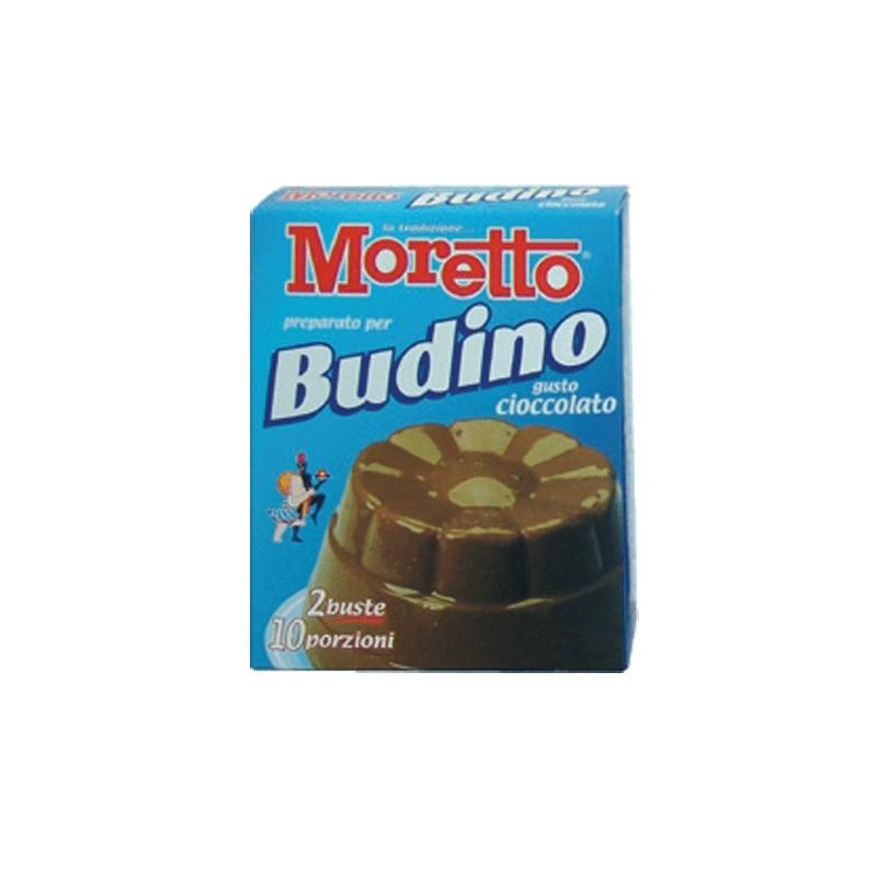 Budino al Cacao  Moretto 8 scatole da 2 bustine