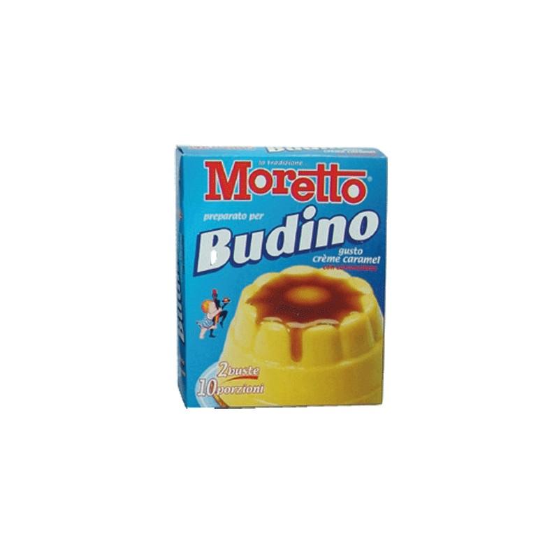 Budino Cremè Caramel Moretto 8 astucci da 2 bustine