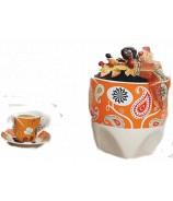 Idee Regalo con Caffè con oggetto e tazzina in ceramica