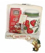 caffè idea regalo con zuccheriera in ceramica