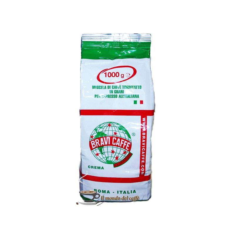 Caffè in grani gusto crema 20 Arabica 80 Robusta