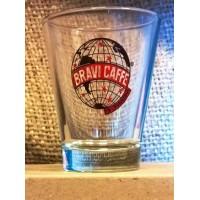 Kit degustazione caffè bicchierini in vetro 6 pz