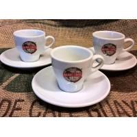 Tazzine caffè professionali in porcellana 6 pz