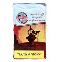 Caffè macinato sotto vuoto 100% Arabica per moka 250 gr
