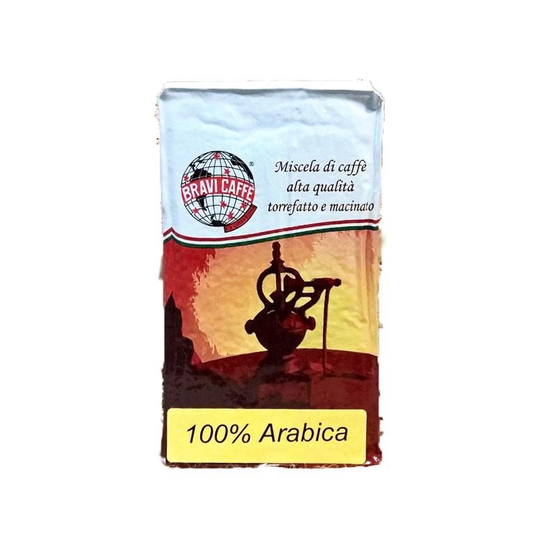 Caffè macinato sotto vuoto 100 percento Arabica per moka 250 GR