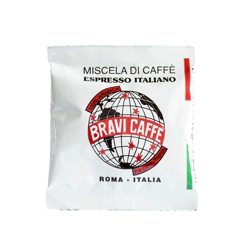 """Il mondo del caffe - Cialde ESE qualità Arabica """"Bravi caffè"""" la"""