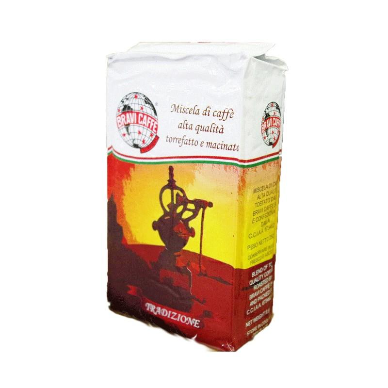 Bravi Miscela tradizione macinato per Moka 250 gr