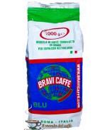 caffè Bravi Robusta 100% in grani Blu