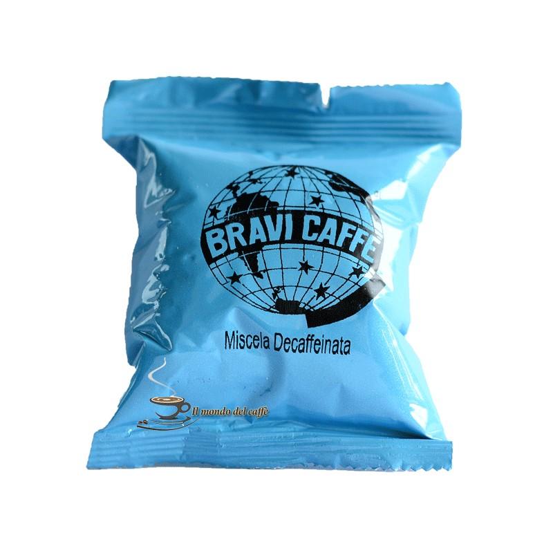 capsule compatibili Nespresso decaffeinato Bravi caffè