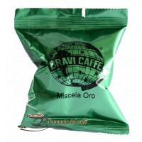 capsula caffè oro compatibile Nespresso torrefazione Bravi