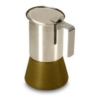 Moka caffettiera d'Argento Squisita della salute