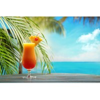Ice tea tropicale shakerato
