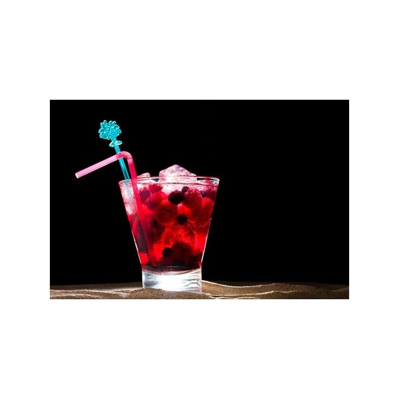 Ice tea shakerato ai frutti di bosco