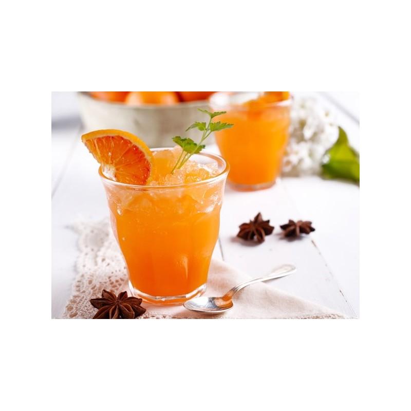 Ice tea shakerato all'arancia