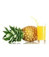 Ice tea shakerato all'ananas