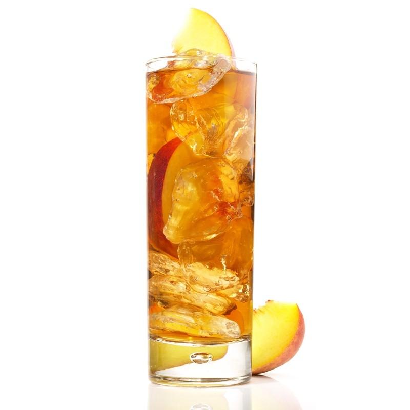 Ice tea deteinato alla pesca shakerato