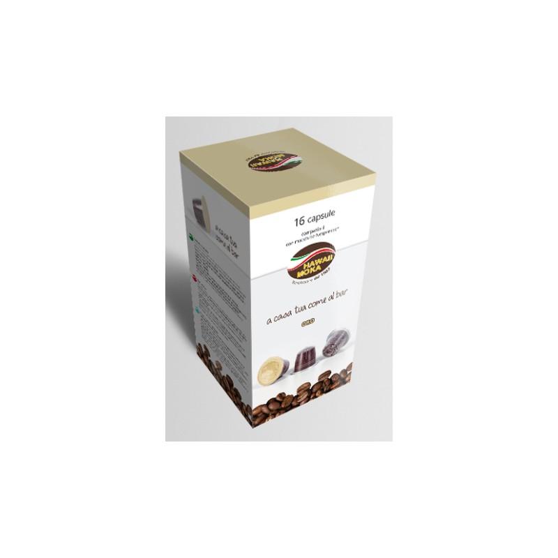 Capsule Nespresso compatibili Miscela Oro Hawaii Moka