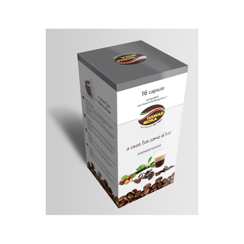 Caffè in capsule gusto nocciola