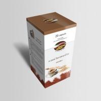 Capsule di caffè solubile al Ginseng