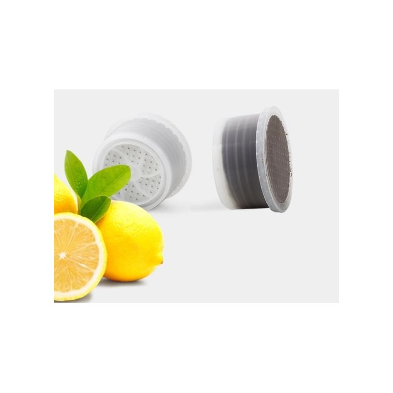 capsule di tè al limone in foglia Lavazza espresso point