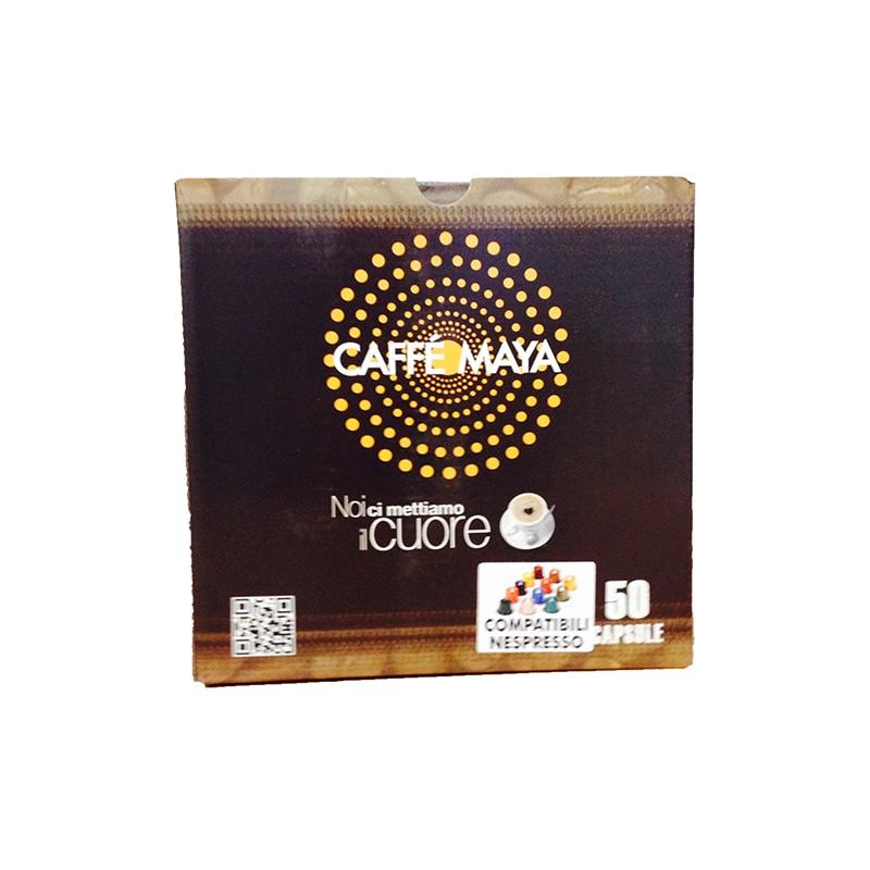 Capsule compatibili Nespresso Miscela Bar caffè Maya