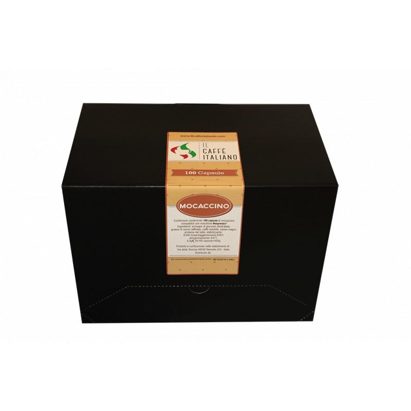 Mocaccino solubile in capsule compatibili Nespresso