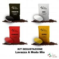Kit degustazione Lavazza A Modo Mio caffè italiano