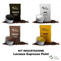 Kit degustazione Lavazza espresso point caffè italiano