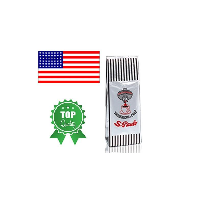 Miscela caffè americano  macinato 100 per cento robusta