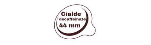 Cialde decaffeinate Ginseng e Orzo 44mm
