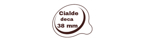 Cialde decaffeinate 38mm