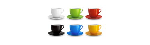 Tazzine caffè-bicchierini vetro