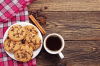 Biscotti al caffè e alla cannella